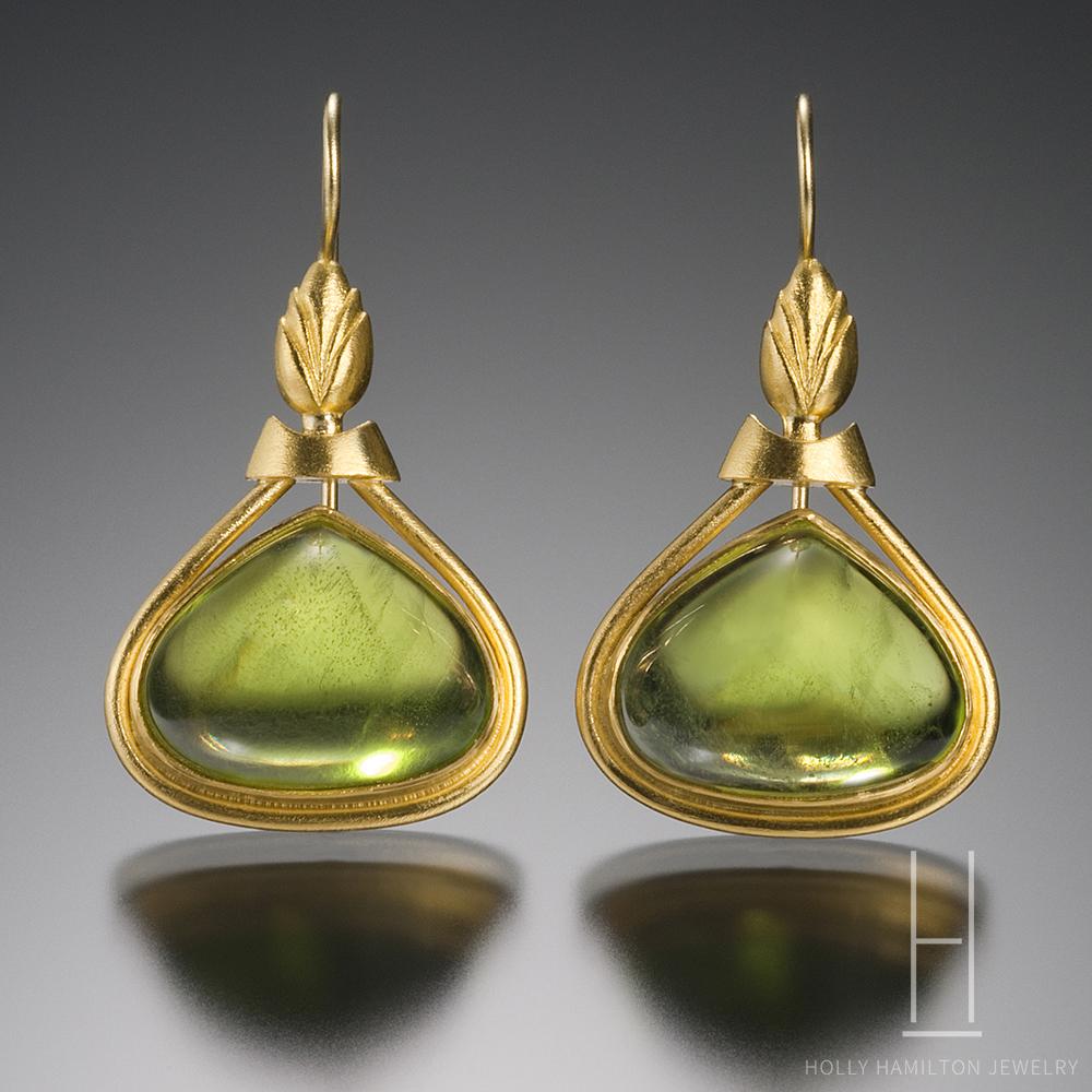 Holly Hamilton Jewelry Peridot Earrings 2 Copy