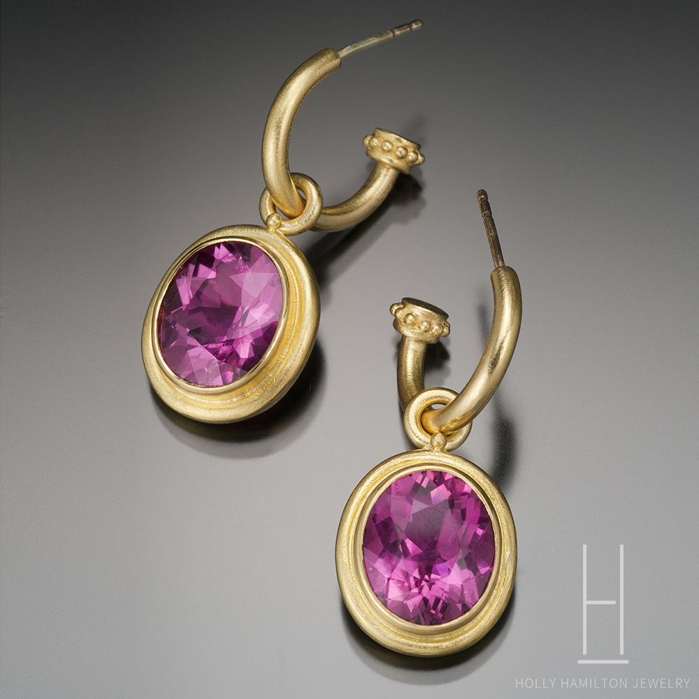 tourmaline in pink raindrop purity w by khwaish view big earrings amp y